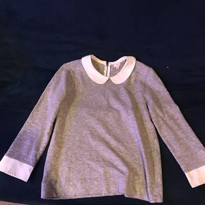 J.Crew collared long sleeve shirt